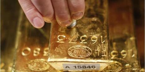 Effondrement brutal du cours de l'or | Economics actu | Scoop.it