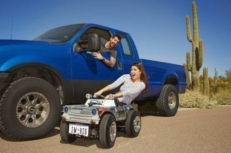 Arizona Man Builds World's Smallest Roadworthy Car | Strange days indeed... | Scoop.it