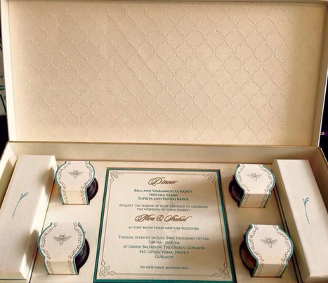 Indian Wedding Invites with Royal Creative Art & Craft   The Wedding Cards Online   Scoop.it
