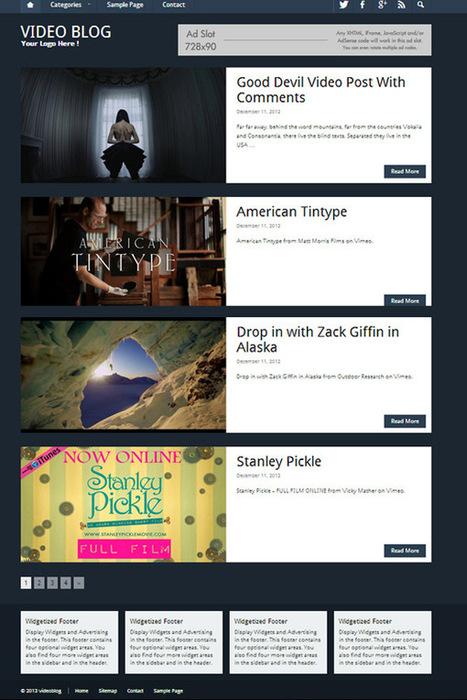 10+ Best WordPress Video Themes   WordPress   Scoop.it