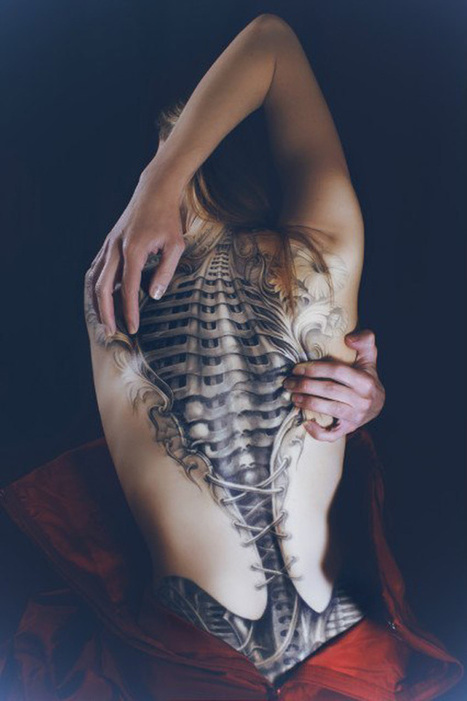 50 Awesome Back Tattoo Ideas | my inspiration | Scoop.it