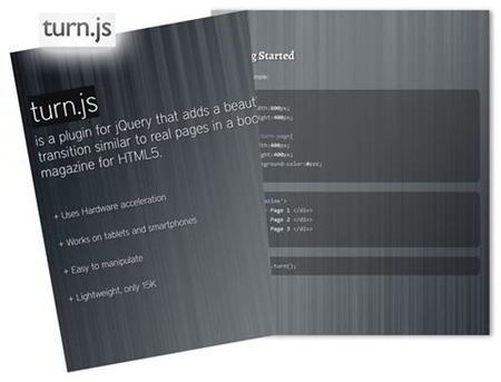 6 Free JQuery Page Flipping Book-Like Plugins | Recursos Web 5 | Scoop.it