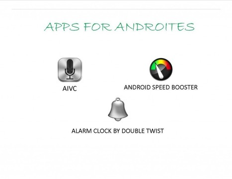 Three In One Apps:  DoubleTwist Alarm, Android Speed Booster And AIVC For Androites | AndroidTuition | Scoop.it