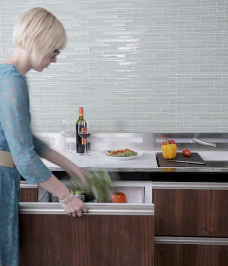 Micro Kitchen Concept for Small Urban Dwellings<br/> | stofftree | Living Little | Scoop.it
