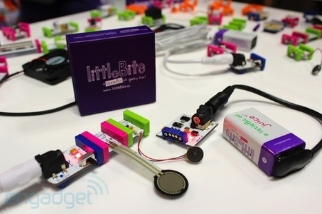 littleBits hands-on: LEGO blocks for future electrical engineers | Heron | Scoop.it