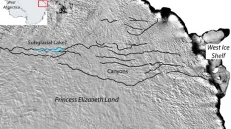 The World's Grandest Canyon May Be Hidden beneath Antarctica | Sustain Our Earth | Scoop.it
