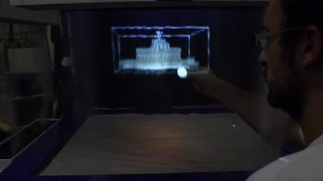 University of Bristol builds interactive 3D fog screen - Geek   advanced technologies   Scoop.it