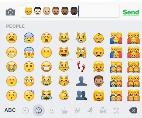 Lose the Cartoon Yellow People Emoji! How to Access Diverse Emoji Icons in iOS | Technology in the Classroom; 1:1 Laptops & iPads & MORE | Scoop.it