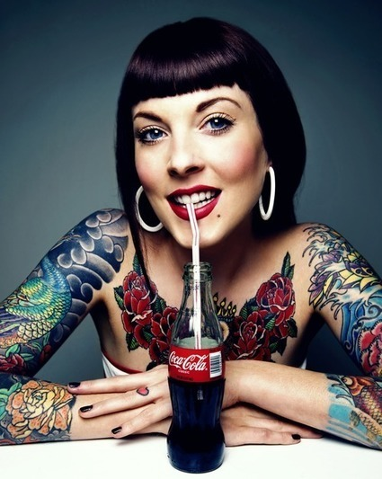 Craftz Berlin Tattoo Studio: Tattoo Coca Cola | Classic and alternative art | Scoop.it