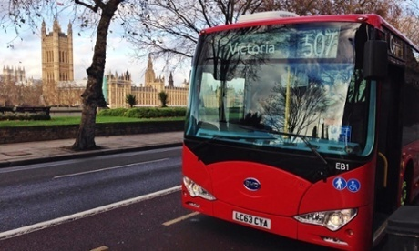 London Gets Fully Electric Buses for Public Transit | Business | Scoop.it