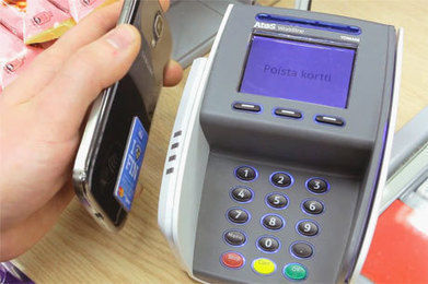 Elisa offers NFC payment stickers in stores - NFC World | NFC technology | Scoop.it