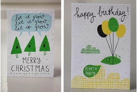 Natal eco-friendly com postais que dão flores.   Eco   Scoop.it