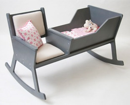 inspiration: rocking chair + cradle | repurpose | Scoop.it