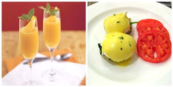 Kari's Cooking: Eggs Sardou and Grand Mimosa's! New Orleans Mardi Gras Style Breakfast all the way! | Exploring Curation Misc. | Scoop.it