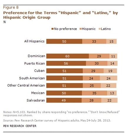 Identity Crisis: Spanish, Hispanic, Latino/a, or Chicano/a? | Palabras | Spanish in the United States | Scoop.it