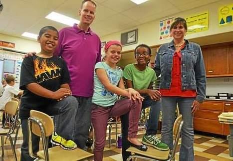 Gwyn Nor Elementary kicks off week of bullying awareness - Montgomery Newspapers | bullying | Scoop.it