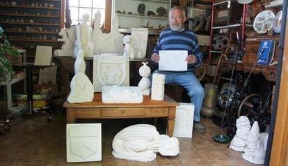 Michel, sculpteur de chimères en pierre | Chatellerault, secouez-moi, secouez-moi! | Scoop.it