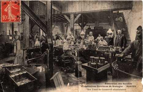 Les ouvrières dans l'industrie nantaise à la Belle Epoque (1890-1914) | d'Aïeux et d'Ailleurs | L'écho d'antan | Scoop.it
