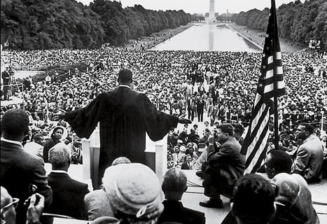 "The Shape of Spectacular Speech: An Infographic Analysis of What Made MLK's ""I Have a Dream"" Great 