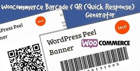 Woocommerce Product Barcode & QR Generator (WooCommerce) - ITaether | GiTINi | Scoop.it