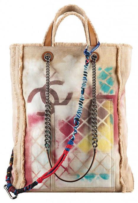 Chanel sacs à dos tagués en exclusivité chez Colette - Essential Homme | MINDS OF LUXURY | Scoop.it