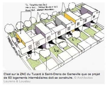 Toulouse : Lancement de 350 logements intermédiaires | The Architecture of the City | Scoop.it