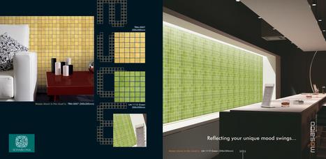 Schablona Designer Tiles   Schablona Ceramic Tiles   Scoop.it