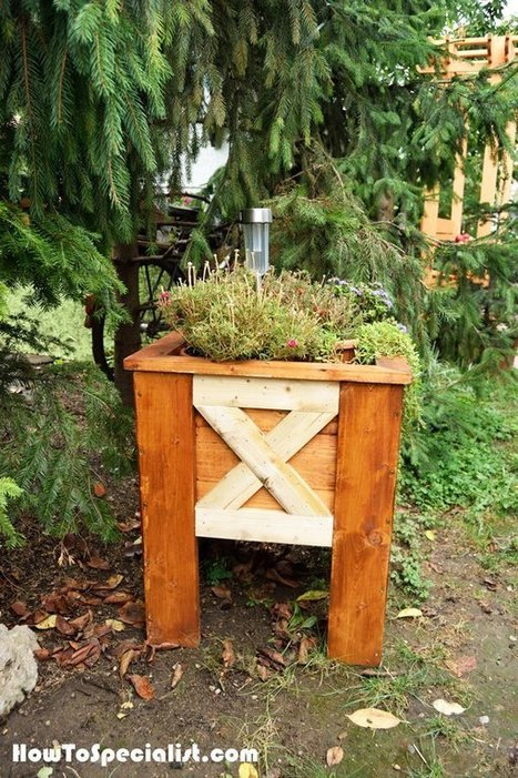 Build an Outdoor Planter | Garden Plans | Scoop.it