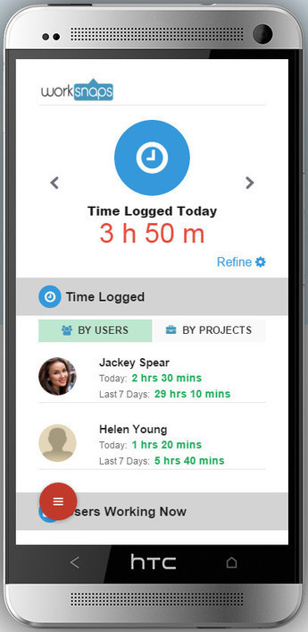 Worksnaps Mobile Version | Worksnaps - Time Tracking Tool for Remote Work | Scoop.it