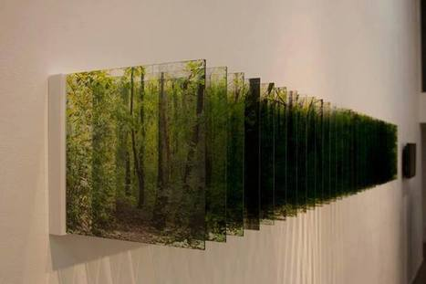 Nobuhiro Nakanishi's Layer Drawing- Light of forest | VIM | Scoop.it