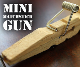Mini Matchstick Gun - The Clothespin Pocket Pistol | Hack the World ! | Scoop.it