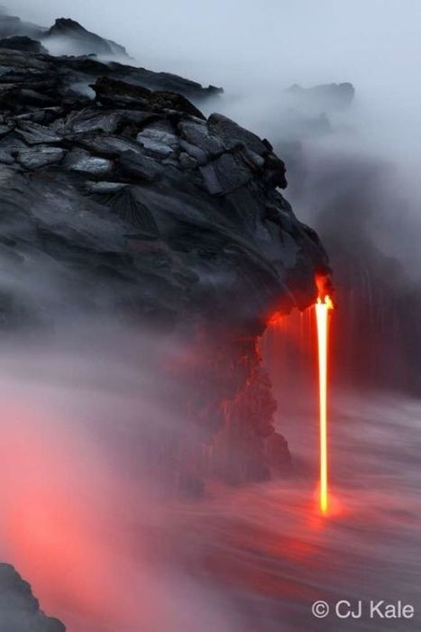 Extremely dangerous lava surf photography is completely worth the risk | Everything Photographic | Scoop.it