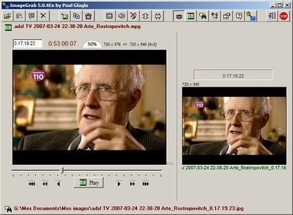 Extraer imágenes desde videos con ImageGrab | Animación y Vídeo Digital | Scoop.it
