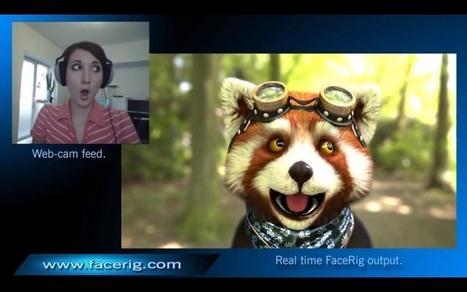 FaceRIG, le programme qui vous transforme en un personnage 3D | Les dernières innovations digitales | Scoop.it