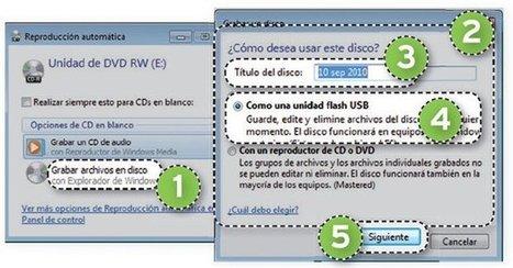 Haz que un CD o DVD virgen se comporte como si se tratara de una llave de memoria USB · Tecnología en español. Comparativas, tutoriales, trucos, ayudas, paso a paso, cómo · Almacenamiento | Al calor del Caribe | Scoop.it