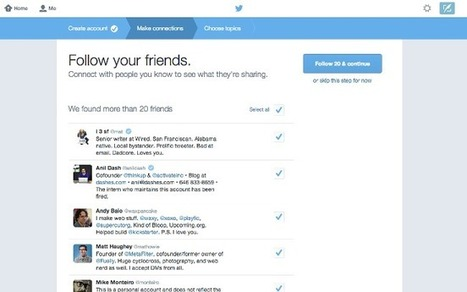 Twitter Experimenting With New Signup Process | Digital-News on Scoop.it today | Scoop.it