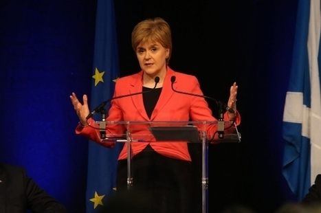 Sturgeon prepares to launch new drive for independence | My Scotland | Scoop.it