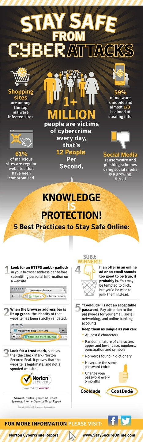 Stay Safe From Cyber Attacks This Holiday Season [Infographic] | Linking Literacy & Learning: Research, Reflection, and Practice | Scoop.it