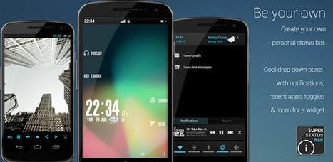 Super Status Bar Pro 0.16.7.2 apk Free Download ~ MU Android APK | andriod phone | Scoop.it