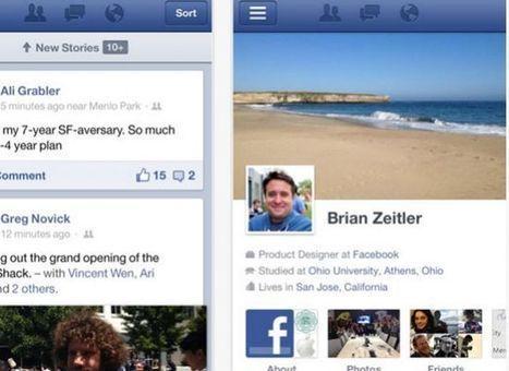 Facebook para iOS se reescribe   bits   Web mx   Scoop.it