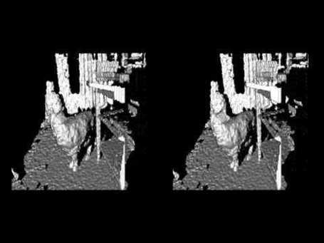 Video Montage of Kinect Depth Data Visuals in 3D | visual data | Scoop.it