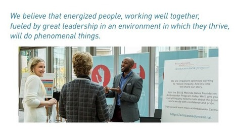 GUEST BLOG | Leading Culture Change At The Bill & Melinda Gates Foundation By Charles Palus & John McGuire | Leadership Learning Community | Culture Change | Scoop.it
