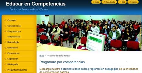 Programar por competencias :: Educar en Competencias básicas | PLE en FORMACIÓN PROFESIONAL | Scoop.it