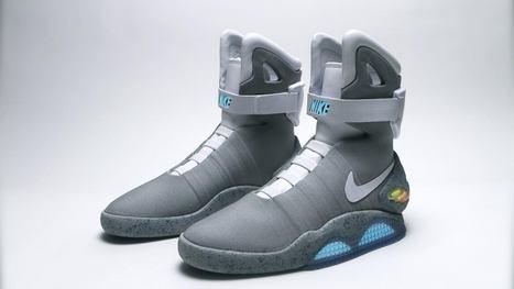 Retour vers le futur : des Nike à laçage automatique en 2015 ? - Geeks and Com'   And Geek for All   Scoop.it