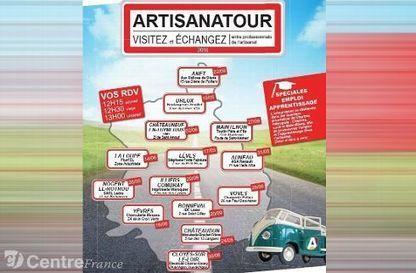 Le 3e Artisanatour est lancé en Eure-et-Loir   L'actualité économique du Perche   Scoop.it
