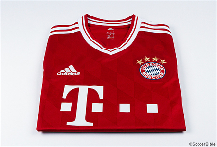 New Look adidas Home Kit For Guardiola's Bayern Munich - Football Shirts | media and technology | Scoop.it