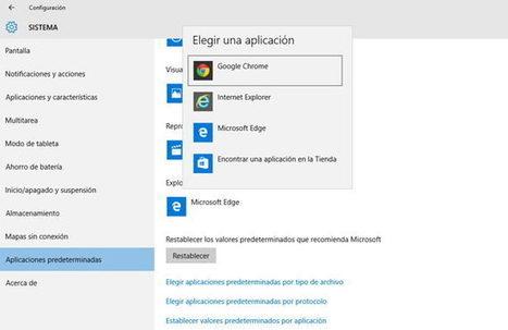 10 cosas que puedes hacer después de instalar Windows 10 | EDUCACIÓN en Puerto TIC | Scoop.it