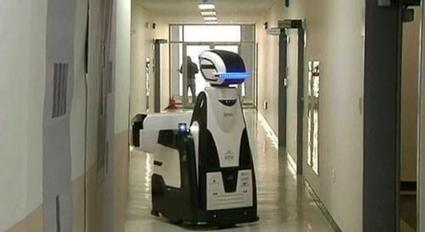 Robot guards being tested in South Korea | Artificial Intelligence and Robotics | Scoop.it