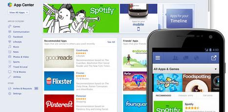 Facebook annonce son App Center | Radio d'entreprise | Scoop.it