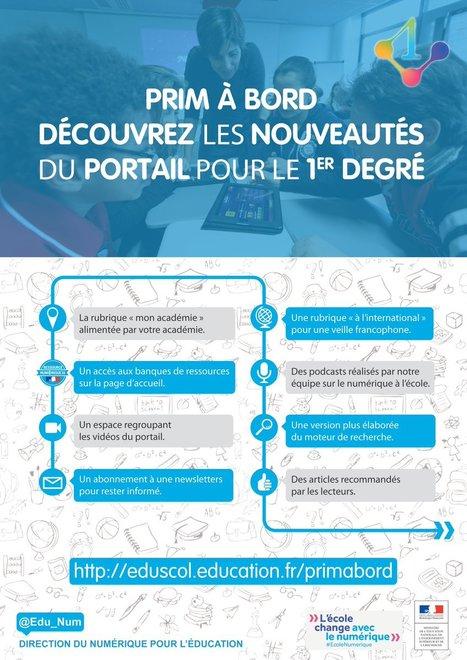 Les nouvelles fonctionnalités de Prim à bord | TICE et éducation en Corse | Scoop.it